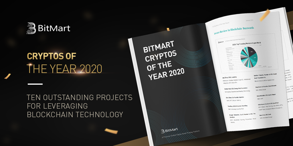 BitMart - Cryptos of the Year 2020 Report.